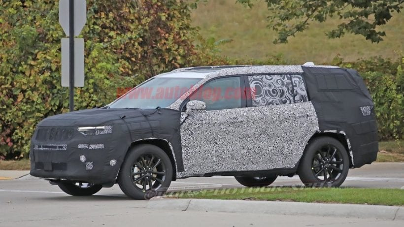 2019 Jeep Grand Cherokee Release Date >> 2019 Jeep Grand Wagoneer Price, Release Date, Spy Photos, Interior