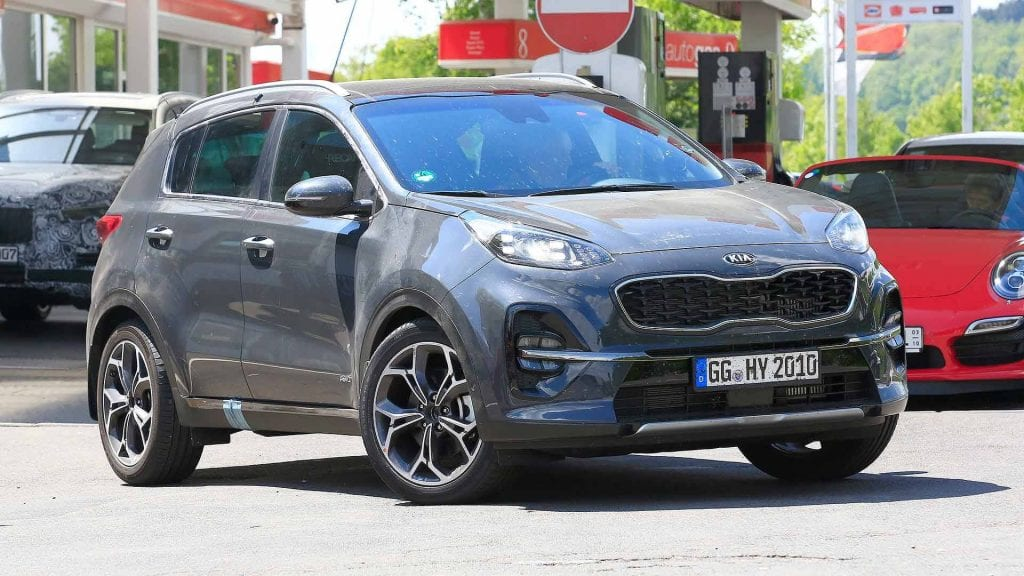 2019 kia sportage facelift price release date interior. Black Bedroom Furniture Sets. Home Design Ideas