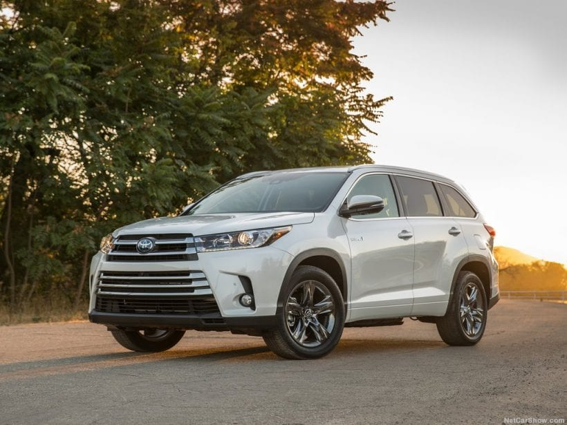 2019 Toyota Highlander Release Date Canges Interior Hybrid
