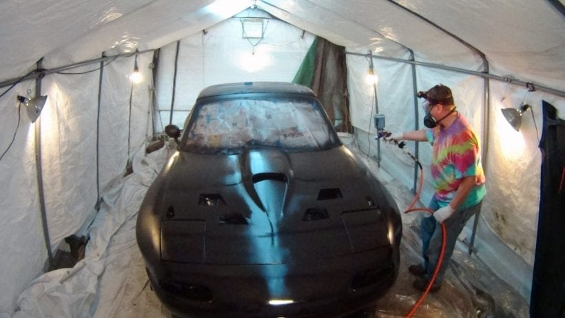 Car That Runs On Air >> What Size Air Compressor Do You Need To Paint Cars? | Car ...