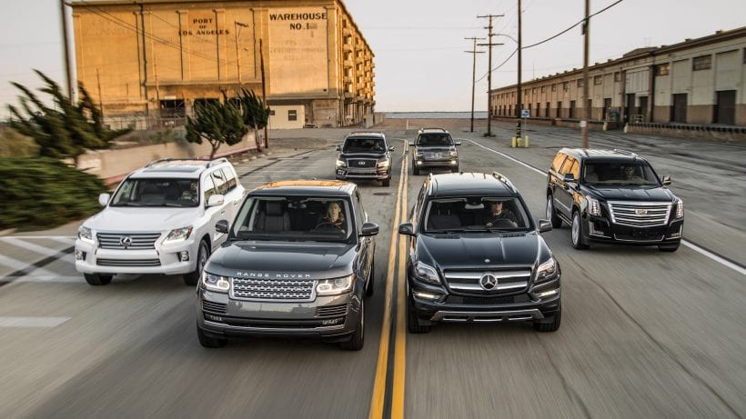 Top 10 Best Luxury Suvs 2019: 10 Top Luxury SUVs 2019 Over $40000