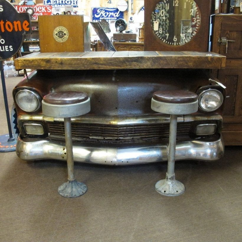 Check out these 20 pieces of furniture made from car parts ...