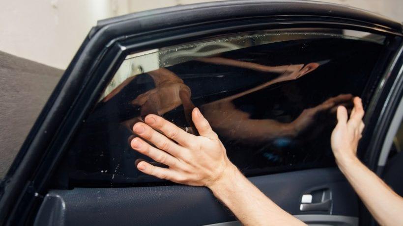 average price to tint car windows